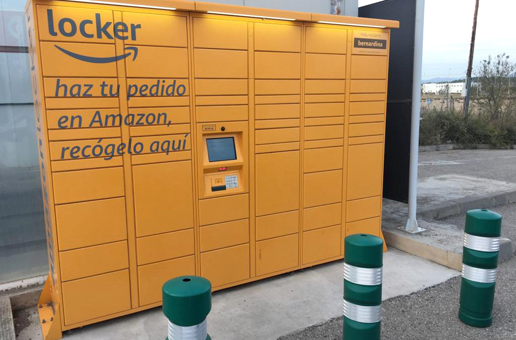 INSTALACIÓN DE AMAZON LOCKERS